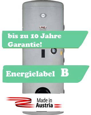Alva Warmwasserspeicher 300 Liter mit zwei Register, Made in Austria, Solarspeicher