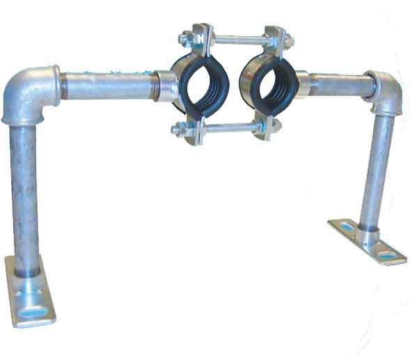 Austroflex Fixpunktschelle double2 x 63 mm