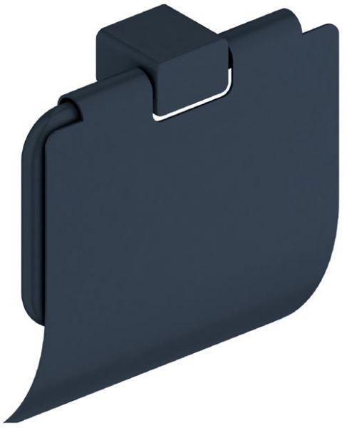 Toilettenpapier Rollenhalter mit Deckel Edelstahl