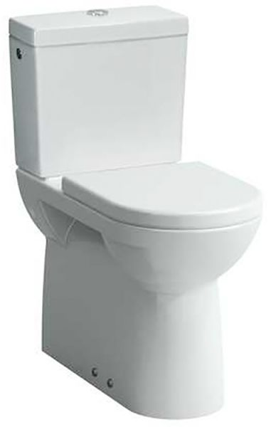 Laufen 2495.5 Stand-Tiefspül-WC PRO Kombination Vario Abgang Sitzhöhe 48cm erhöht