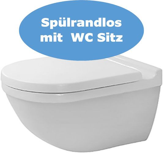 Starck3 Wand WC Set spülrandlos