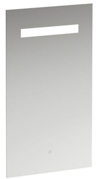 Laufen Leelo Spiegel 450 mm - 550 mm mit Led mit Touch-Sensor