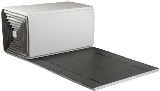Schütz quadro-takk PRO Tackerplatte EPS-T30-3 mm, SD 20, Verpackung zu 10,3 m2