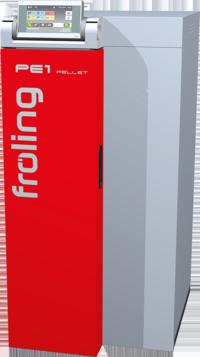 Fröling PE1 Pelletskessel mit RS 4