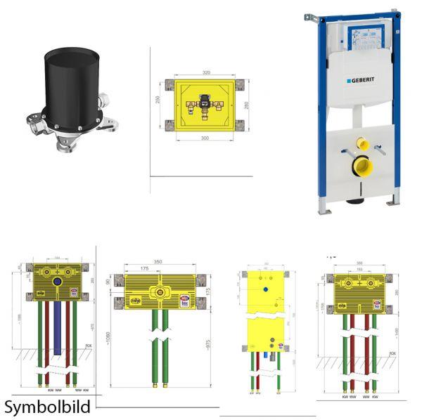 """Unterputz-Komplett-Installation mit MHS-Vitalboxen zu 0N10824 """"Complete"""""""