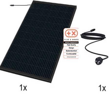 Sonnenkraftwerk mein Kraftwerk 325 Wp Photovoltaik Modul Set