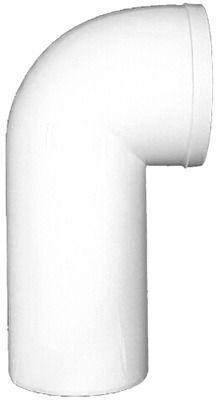 HL 205 WC-Anschlussbogen weiss