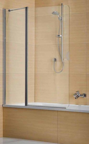 Duka Multi-S 4000 Wannen-Faltwand 1150 mm silber, ESG Glas