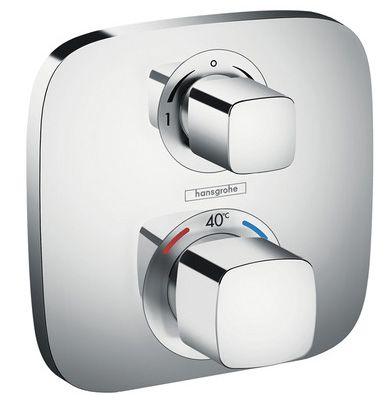Hansgrohe Sichtteil Thermostat Ecostat E 2 Verbraucher, verchromt 15708