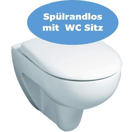 Wand WC Set Geberit Renova spülrandlos