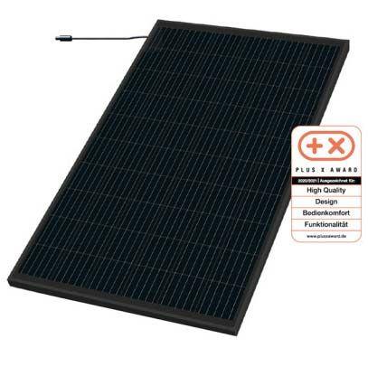 Sonnenkraftwerk mein Kraftwerk 325 Wp Photovoltaik Modul mono Black AT