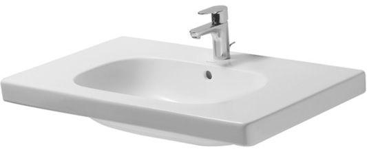 Duravit D-Code Möbelwaschtisch 850 mm