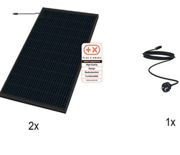 Sonnenkraft Mein Kraftwerk Set 2 Module je 325 Wp mit Stecker (für AT)