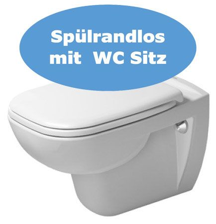Duravit Wand WC Set D Code rimless
