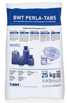 BWT Perla Tabs Regeneriersalz 25 kg für Enthärtung Aktionspaket