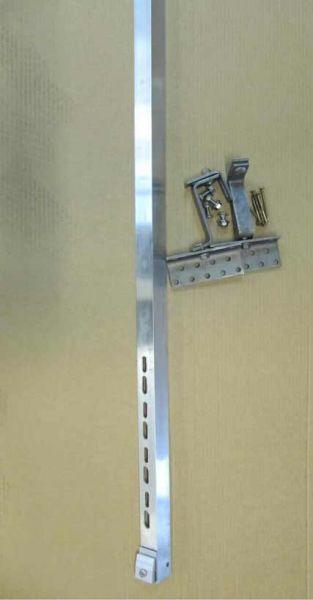 Befestigung für Solarkollektor 2,58 m2 Dachziegel parallel für 2 Kollektoren