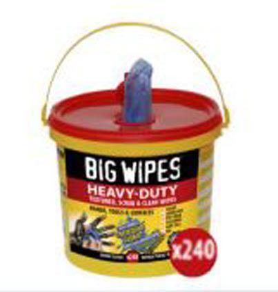 Big Wipes Heavy Duty Reinigungstücher 240 Stk Eimer